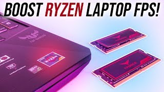 Single vs Dual Channel - Ryzen 7 3750H Gaming Benchmarks