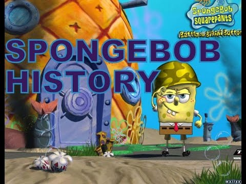 History of   Spongebob Games  2001 2015    YouTube History of   Spongebob Games  2001 2015