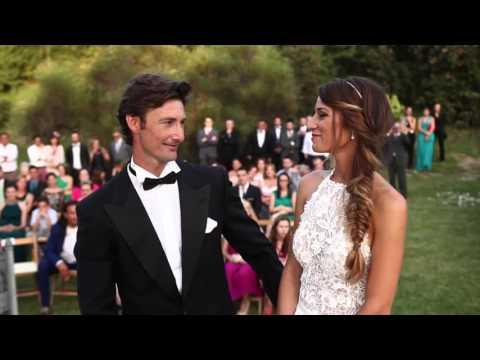 Ceremonia de Boda de Juan Carlos Ferrero