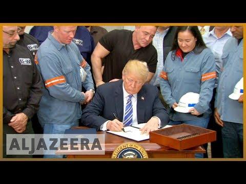 🇺🇸 Trump signs controversial steel, aluminium import tariffs | Al Jazeera English