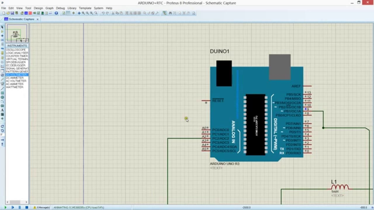 Boost Converter Using Arduino Simulation In Proteus 9v To 18v Dc Circuit Also Buck Design Youtube
