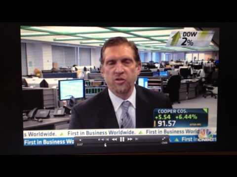 CNBC Fast Money-- Melissa Lee clowns Gary Wedbush.  September 6, 2012