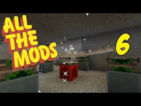 Modded Minecraft 1.10.2 All The Mods Episode 6 - Our First Solar Panel