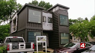 How Shipping Containers Become New Homes In Detroit