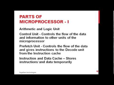 what is microprocessor and How to Work in Hindi.
