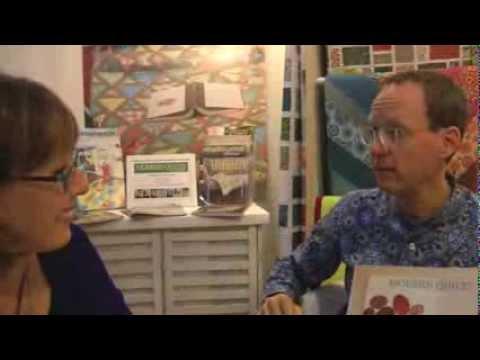 Alex Anderson talks to Bill Kerr of Modern Quilt Studio