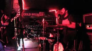 Temple of Dagon - NELSON LOPEZ Drum cam - live  5 Star Bar 01/09/2015
