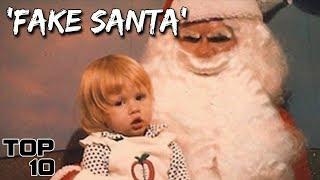 Top 10 Scariest Mall Santa's - Christmas Live Stream