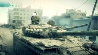 Сирия, война, танки, Муцураев.