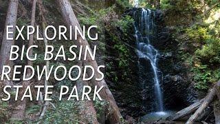 Big Basin Redwoods State Park Hikes: Berry Creek Falls & Redwo…