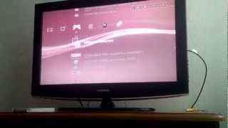 Ma PS3 affiche une écran tout noir l'or du démarrage du jeux