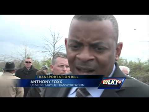 U.S. Secretary of Transportation visits Louisville