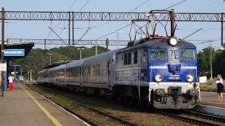 Wakacyjne pociągi na stacji Kołobrzeg (EIC, TLK, iR, Regio) - lipiec 2014 r.