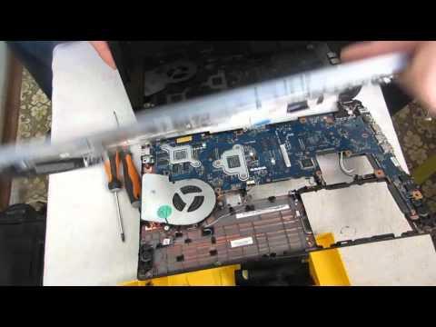 Разборка и чистка ноутбука Toshiba U940 Dqs.  Disassembly And Cleaning Laptop Toshiba U940 Dqs.