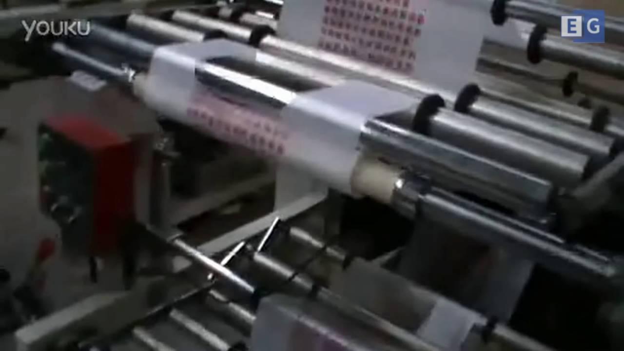 производство полиэтиленовых пакетов - YouTube