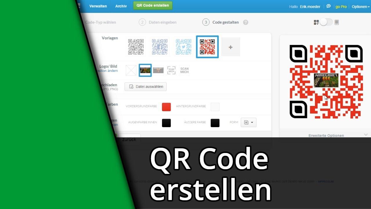 QR-Code Tutorial | Eigenen QR-Code erstellen + entwerfen ...