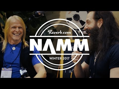 John Petrucci and Steve Morse in Conversation at NAMM 2017