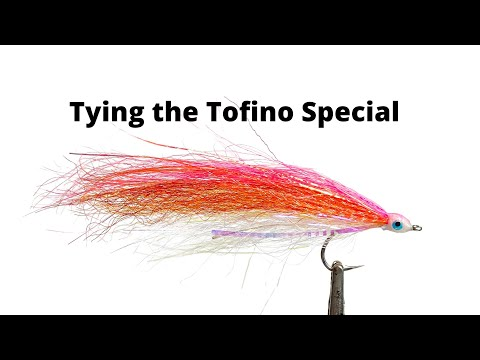 Fly Tying The Tofino Special Bucktail For Coho Salmon