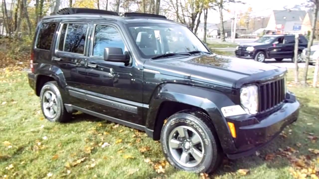 2008 jeep liberty sport for  ~ super clean with sky slider