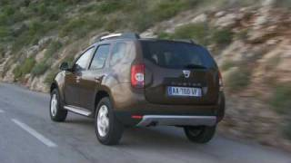 All new Dacia Duster 2010 Coast and Countryside Driving