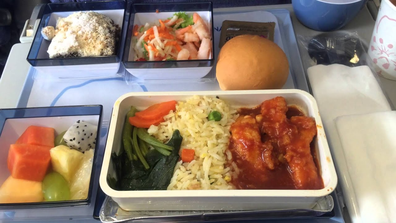 China Southern Airlines Food Menu