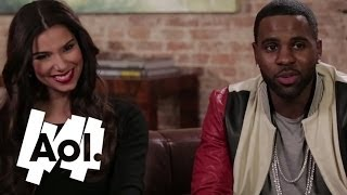 Jason Derulo and Roselyn Sanchez Talk Dirty