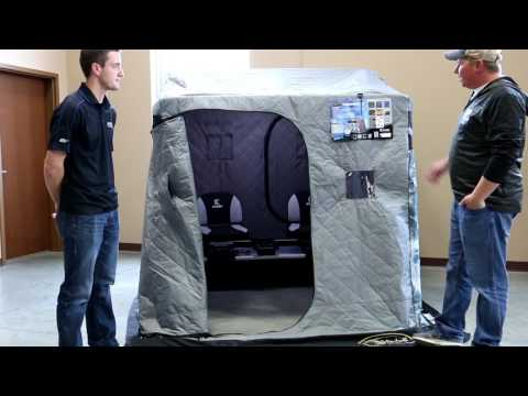 Clam Jason Mitchell Thermal X Portable Ice Shelter