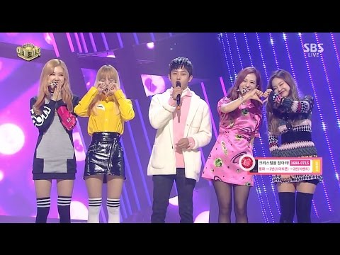 BLACKPINK - Interview(마지막 무대 인사) + '불장난(PLAYING WITH FIRE)' 1211 SBS Inkigayo