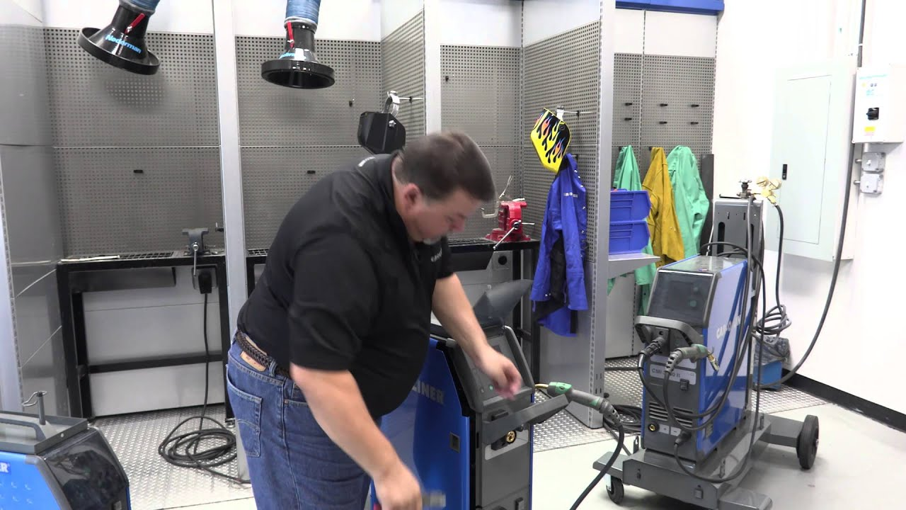 Car-O-Liner MIG Welding Technical Tip: Loading Wire - YouTube
