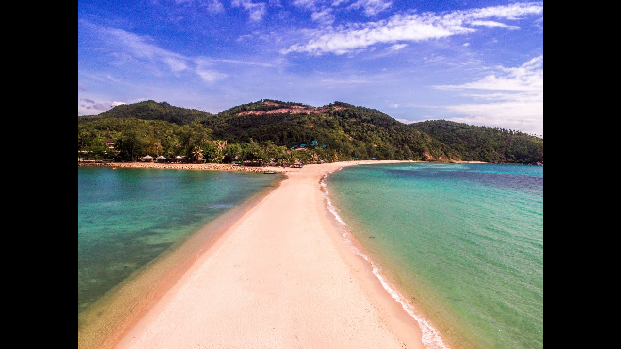 Visiting Mae Haad Beach Koh Phangan Thailand Youtube