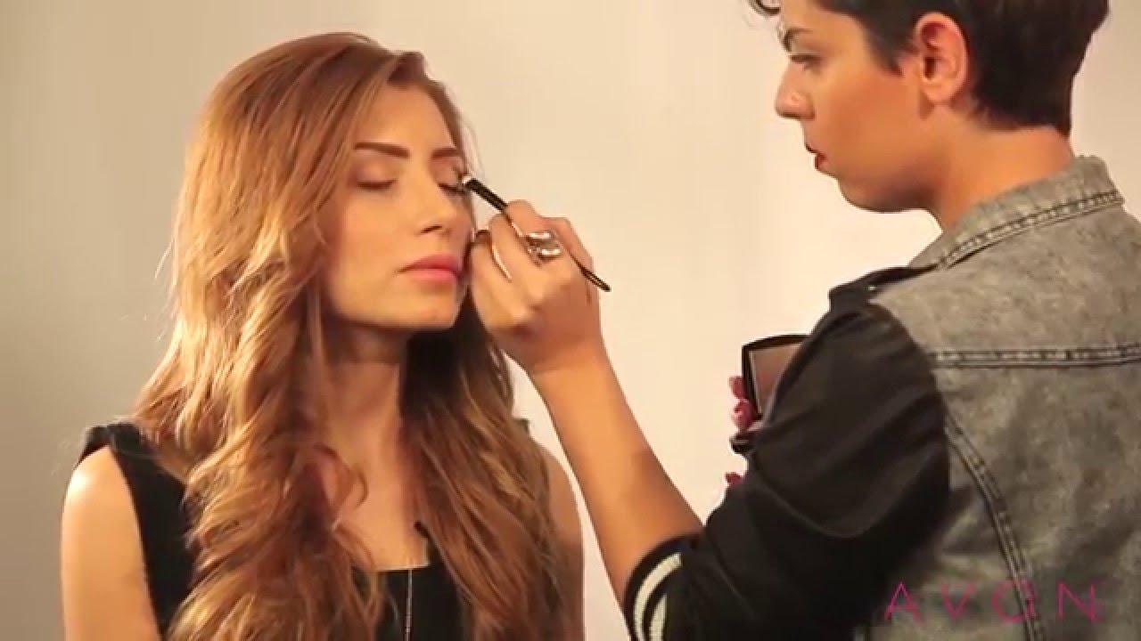 AVON Çift Renkli Eyeliner  Ezgi Sadeghi & Chunli Beauty