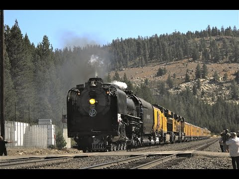 Union Pacific 844 - Over The Donner Pass 2012