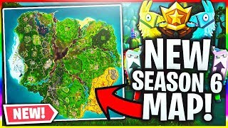 FORTNITE 6 ª TEMPORADA MAPA VAZOU! (Fortnite Battle Royale temporada 6)