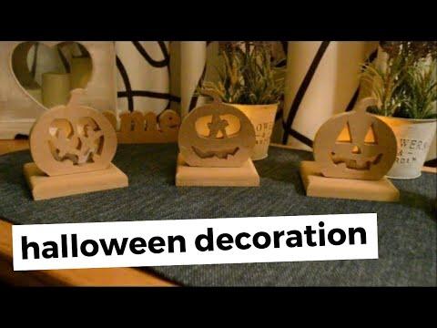 diy wooden pumpkins light