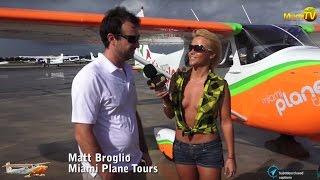 Repeat youtube video Jenny Scordamaglia - Miami Plane Tours - Miami TV - Aerial Views