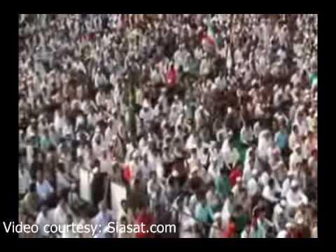 Telangana Garjana Jamaat-E-Islami Hind KCR (part 1 of 2)