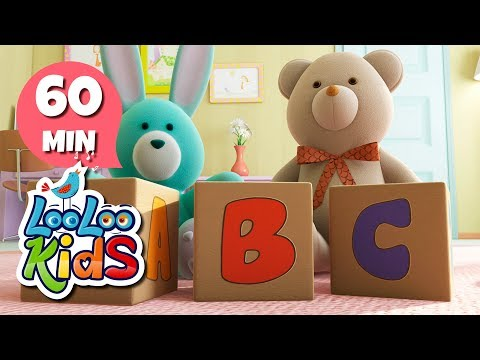 The ABC Song - Fantastic Nursery Rhymes for Children | LooLoo Kids