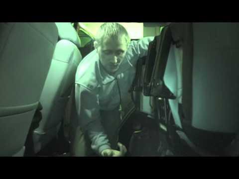 Jeep Wrangler Unlimited Jk Rear Seat Recline Youtube
