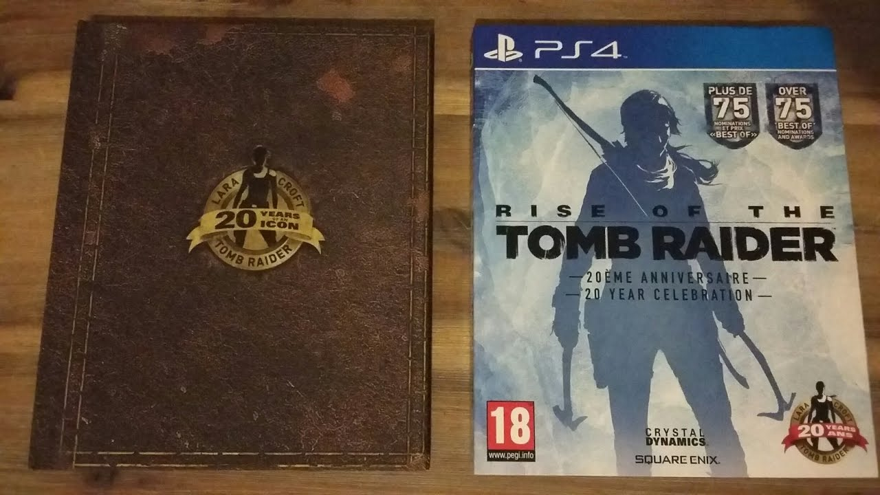 Rise Of The Tomb Raider 20th Anniversary Edition Unboxing Youtube