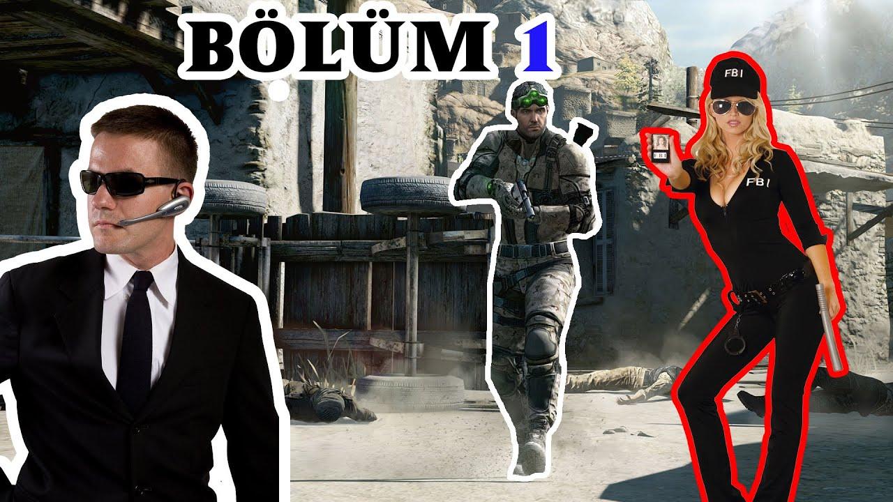 Splinter Cell Blacklist Bölüm 1- Ajan X