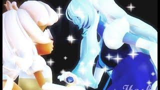[Steven Universe animation] Sapphire + Padparadscha FUSION