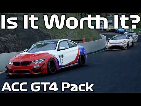 First Impressions of Assetto Corsa Competizione's GT4 Pack |