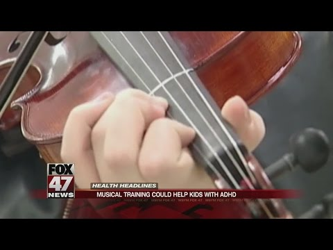 Musical training could help kids with ADHD