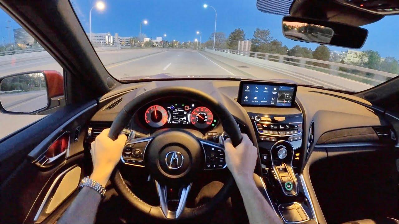 2021 Acura RDX A-Spec SH-AWD - POV Sunrise Drive (Binaural Audio)