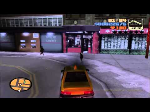 The Angry  Tyrant's Grand Theft Auto III Playthrough
