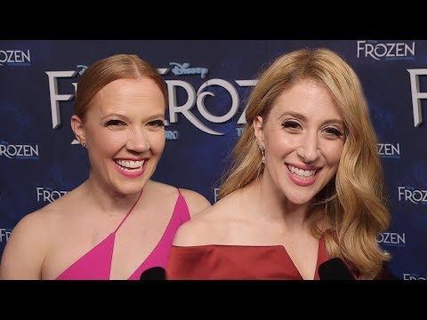 Patti Murin and Caissie Levy on How Frozen Will Transport You to Another World