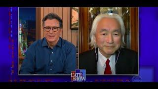 """Download """"C'est une mauvaise idée d'annoncer notre existence"""" - Michio Kaku avec Stephen Colbert Late Show"""