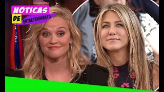 Reese Witherspoon talks up new show with Jennifer Aniston