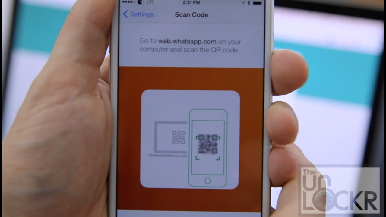 How To Use Whatsapp Web On An Iphone Youtube