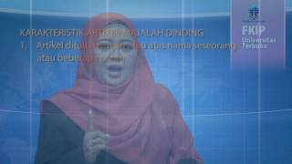 Pbin4214 Sanggar Bahasa Dan Sastra Indonesia   Artikel Dlm Majalah Dinding